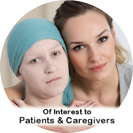 link to information of interest to patients and caregivers